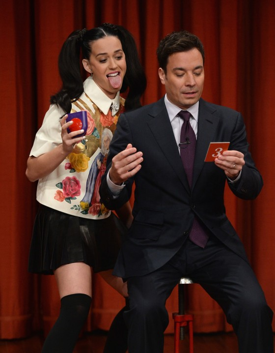 Katy Perry: Late Night with Jimmy Fallon 2013 -02