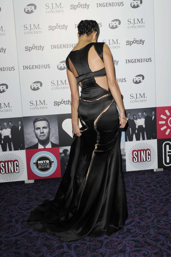 Nicole scherzinger music industry trust awards in london