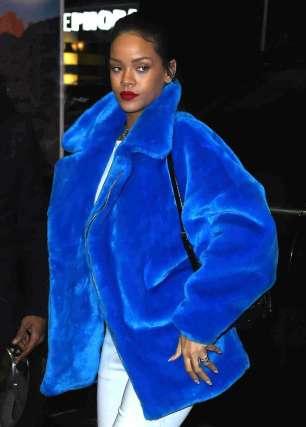 Image result for Rihanna In blue