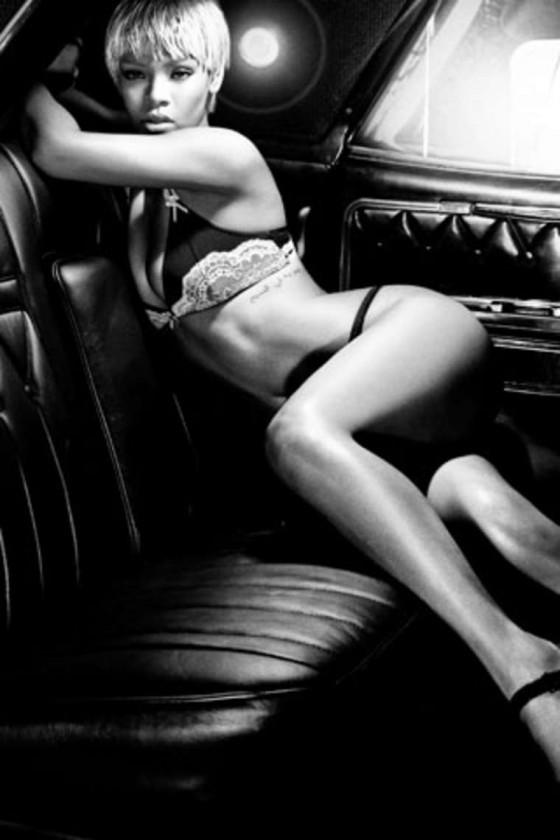 Rihanna – Emporio Armani Underwear & Jeans Fall / Winter 2011