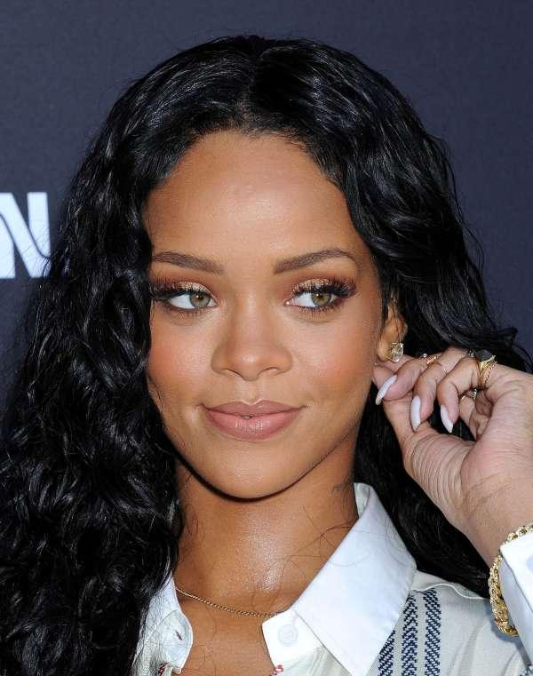 Rihanna Pictures: 2014 Pre-Grammy Brunch – Roc Nation -13 ...