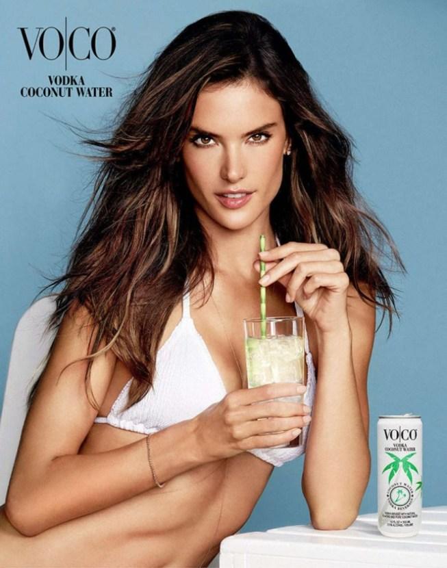Alessandra Ambrosio in Bikini for VOCO Ad Campaign