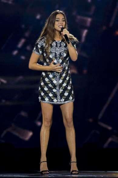 Alexandra Maquet 2017: Alexandra Maquet: Francia ensayando en el concurso de canciones de Eurovisión 2017-06