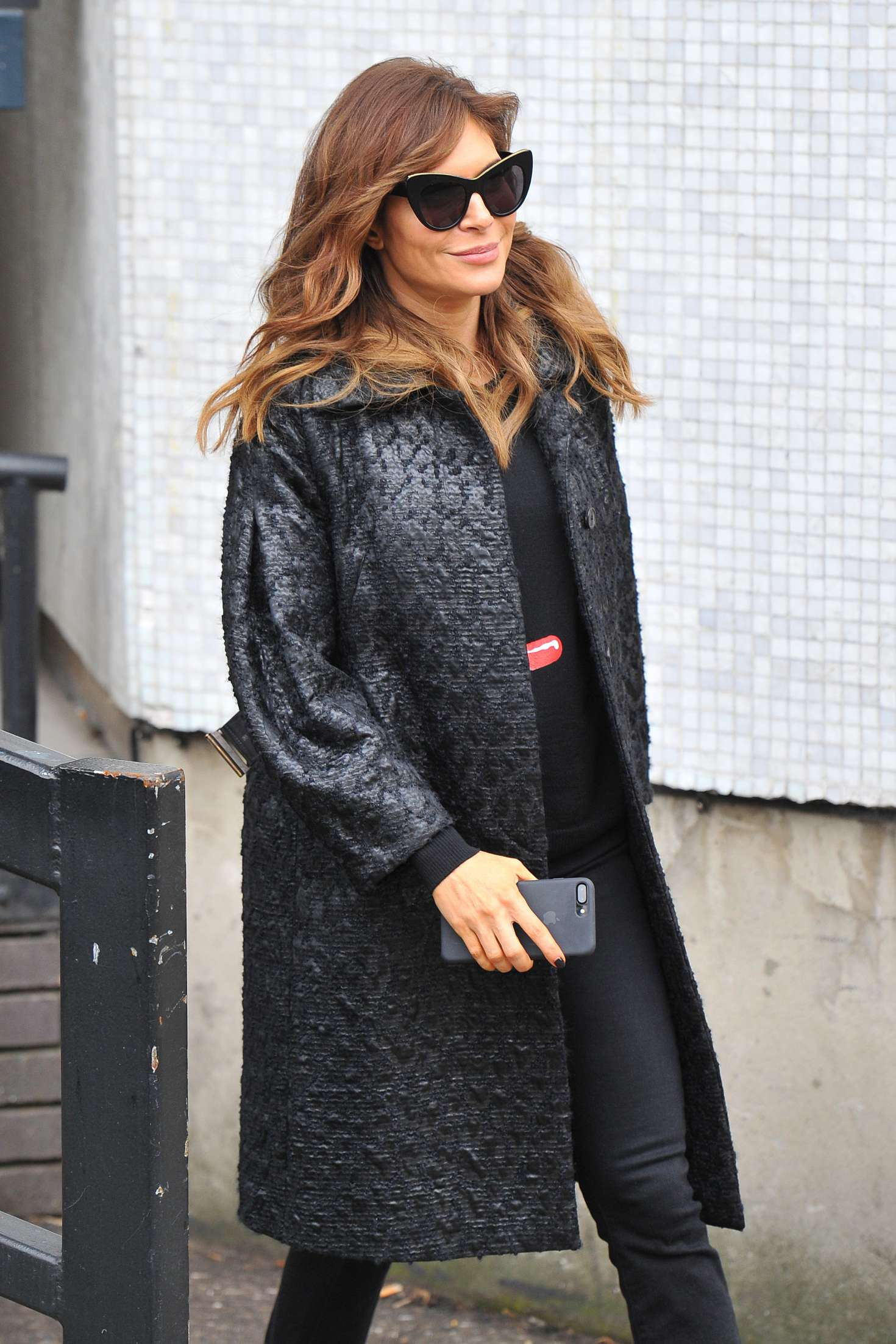 Ayda Field Leaving The ITV Studio In London GotCeleb
