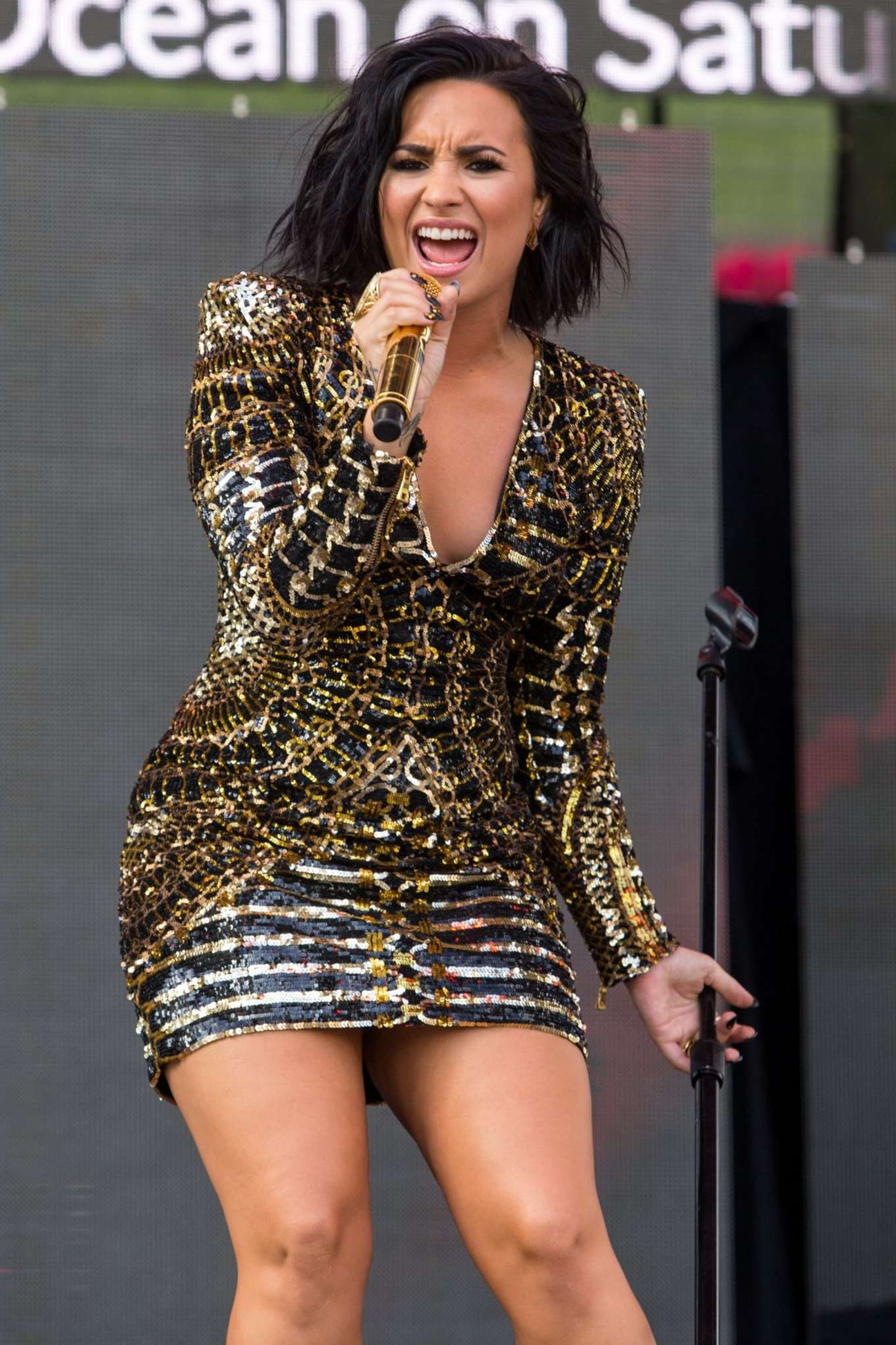 Demi Lovato Performs At Wango Tango 2016 In Los Angeles