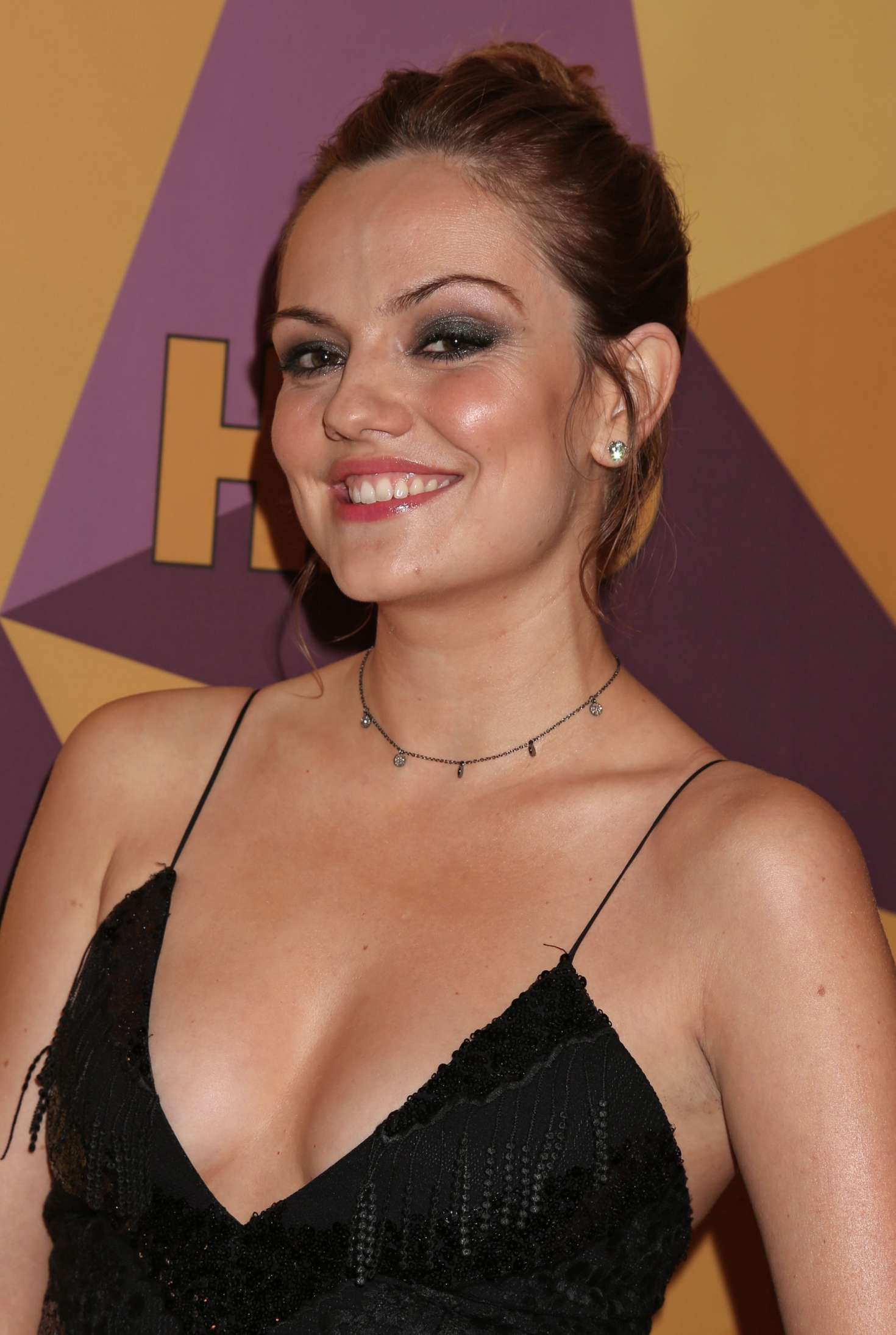 Emily Meade Hbo S Official Golden Globe Awards After