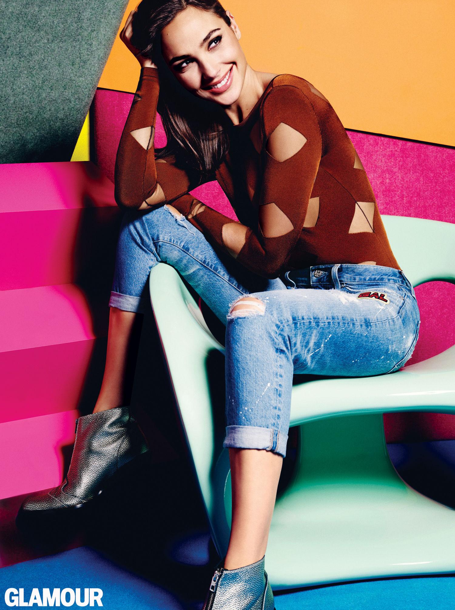 gal gadot: glamour magazine 2016 -03 - gotceleb