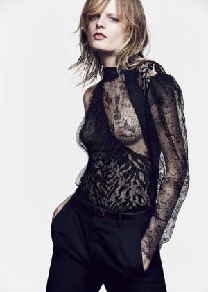 Hanne Gaby Odiele Elle Brasil Magazine March 2017 GotCeleb