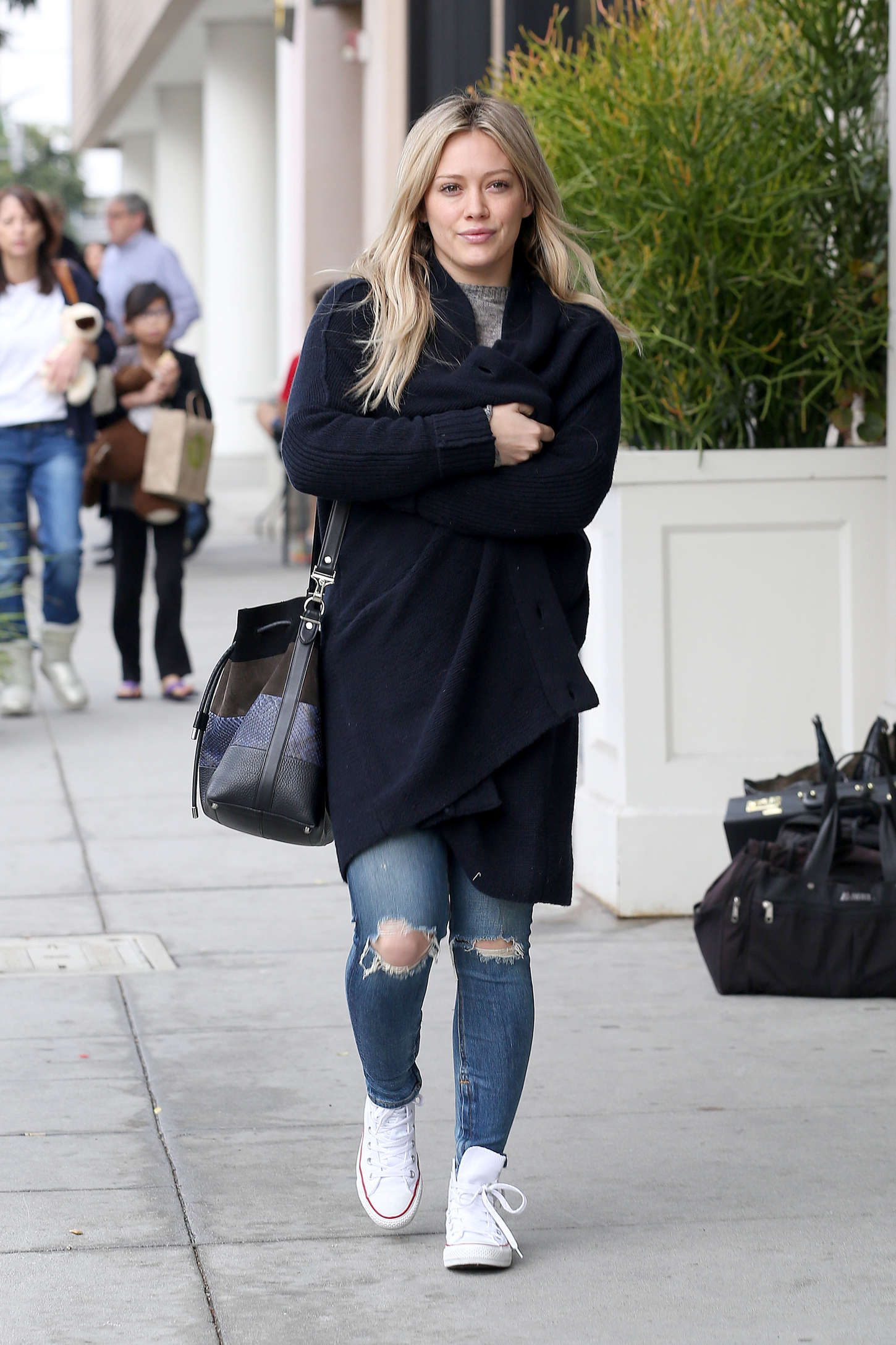 Hilary Duff Out And About In Beverly Hills GotCeleb