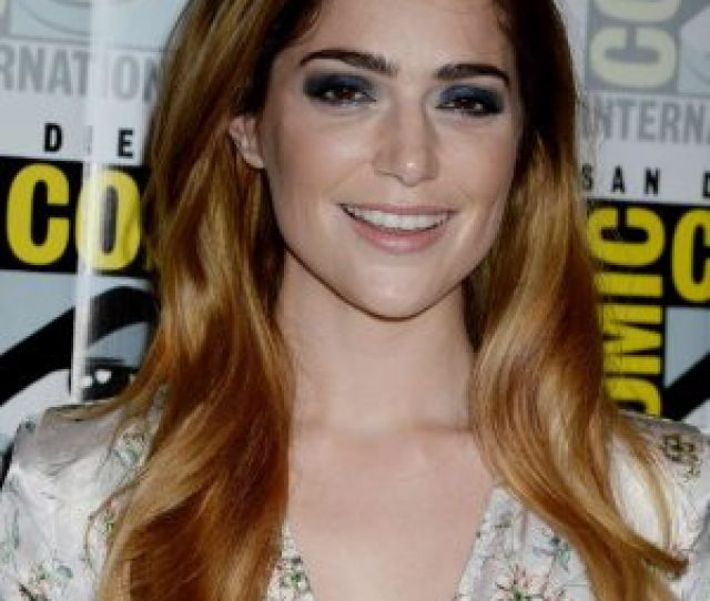 Janet Montgomery The Exorcist Press Line At Comic Con International  Full Size