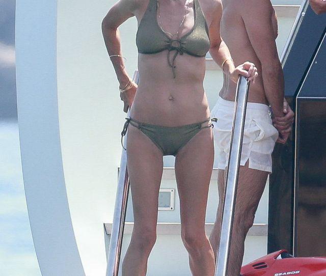 Jennifer Connelly In Bikini On Vacation In Ibiza Gotceleb