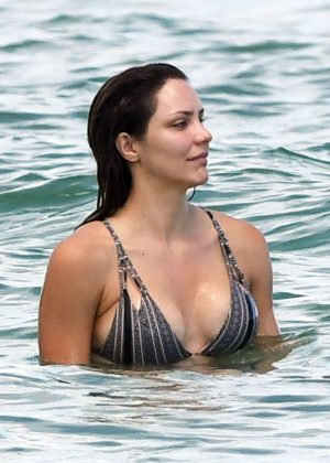Katharine McPhee In A Bikini At The Beach In Miami GotCeleb