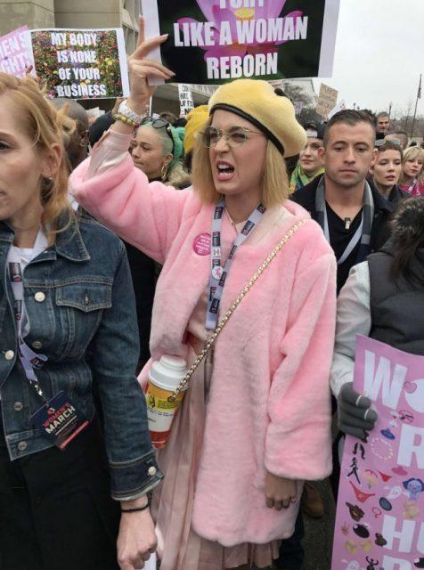 Resultado de imagen para katy perry women march