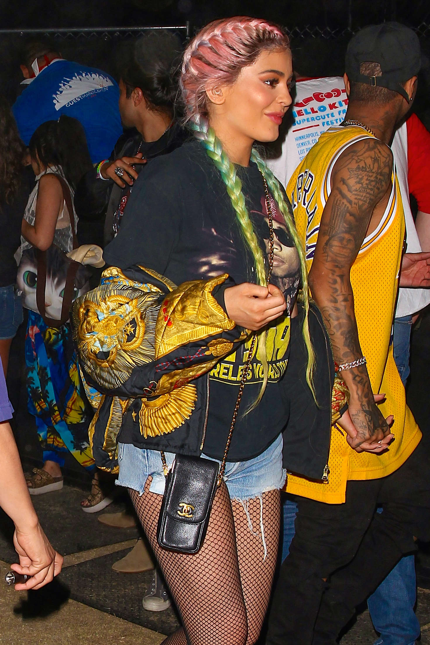 Kylie Jenner Coachella Valley Music And Arts Festival