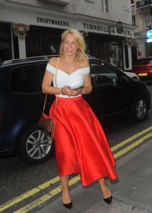 Laura Hamilton Quaglinos Q Legends Launch Party In London GotCeleb