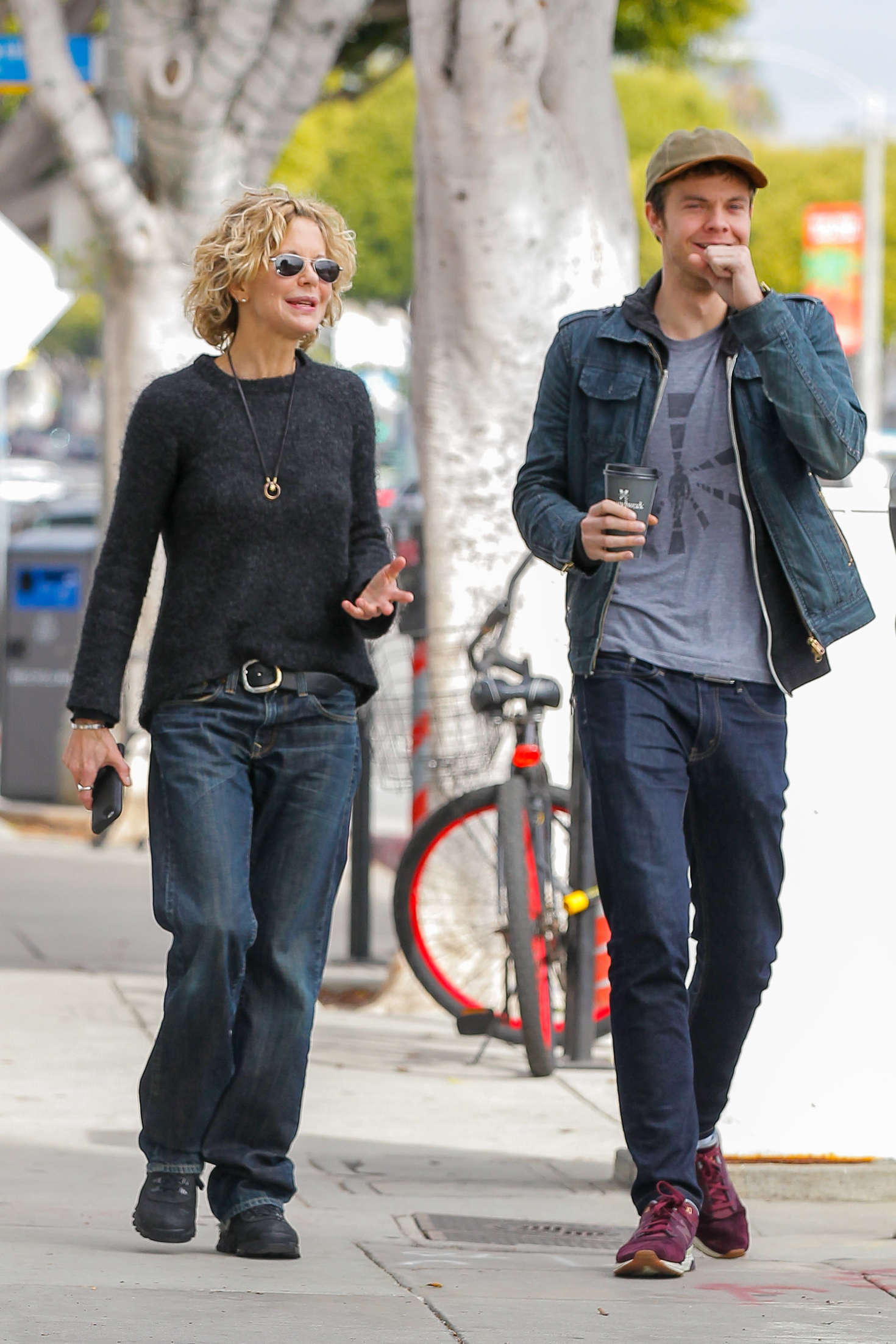 Meg Ryan And Son Jack Quaid Out In Los Angeles Gotceleb