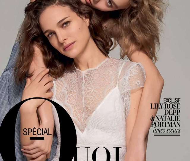 Natalie Portman And Lily Rose Depp Madame Figaro 2016 15