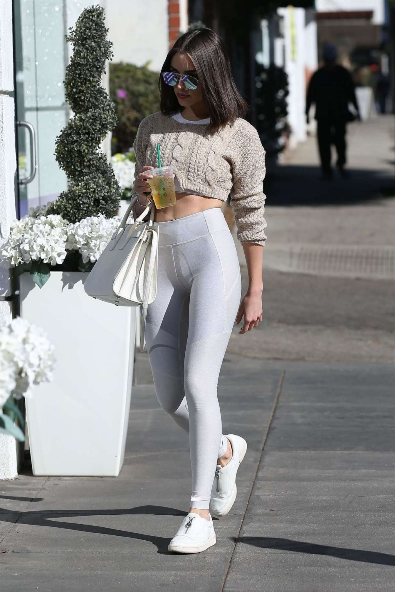 Olivia Culpo In White Tights 09 Gotceleb