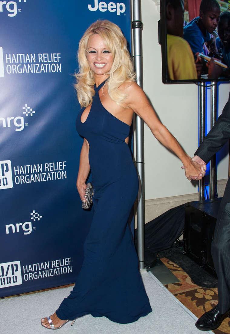 Pamela Anderson 2015 Sean Penn Amp Friends HELP HAITI HOME