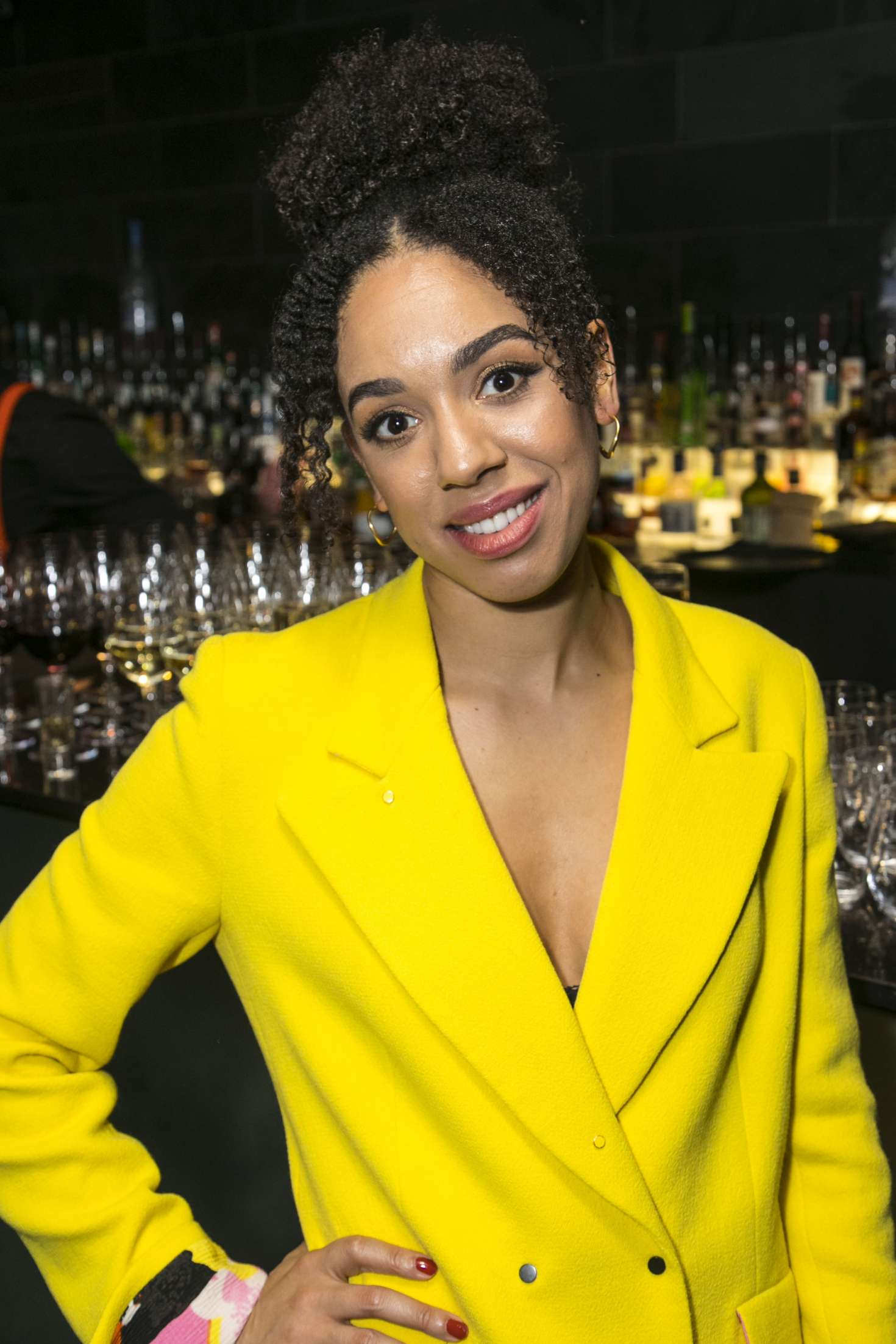 Pearl Mackie The Birthday Party Play In London