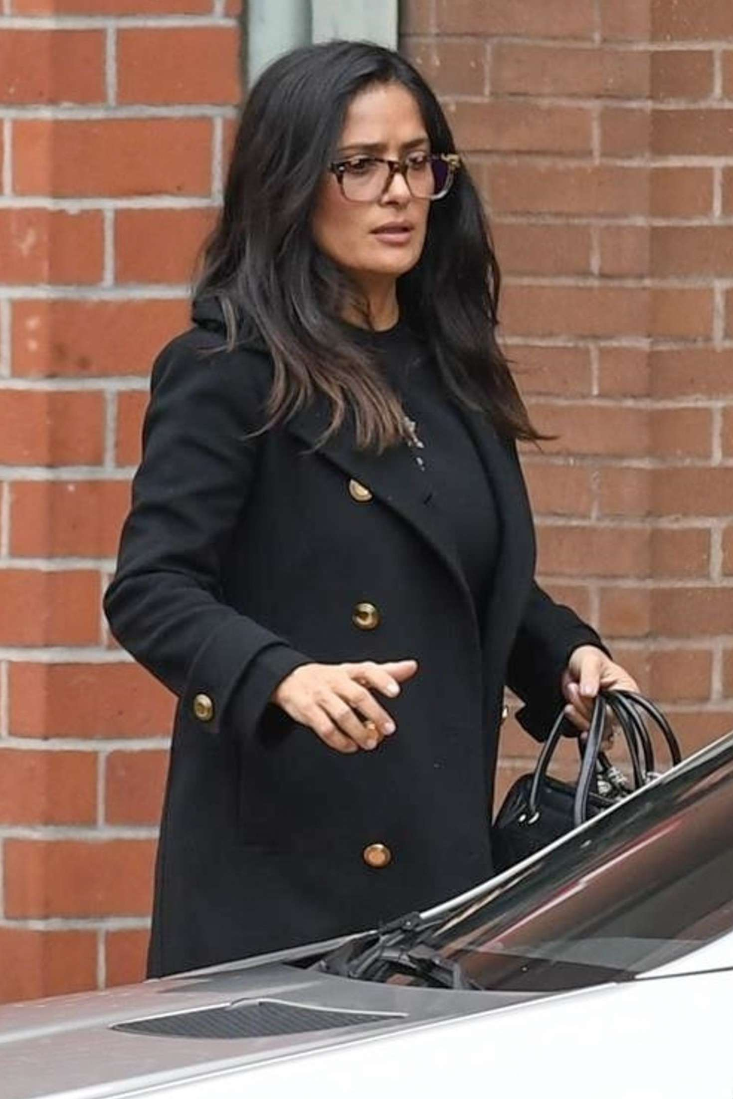 Salma Hayek Leaves A Medical Building In Beverly Hills
