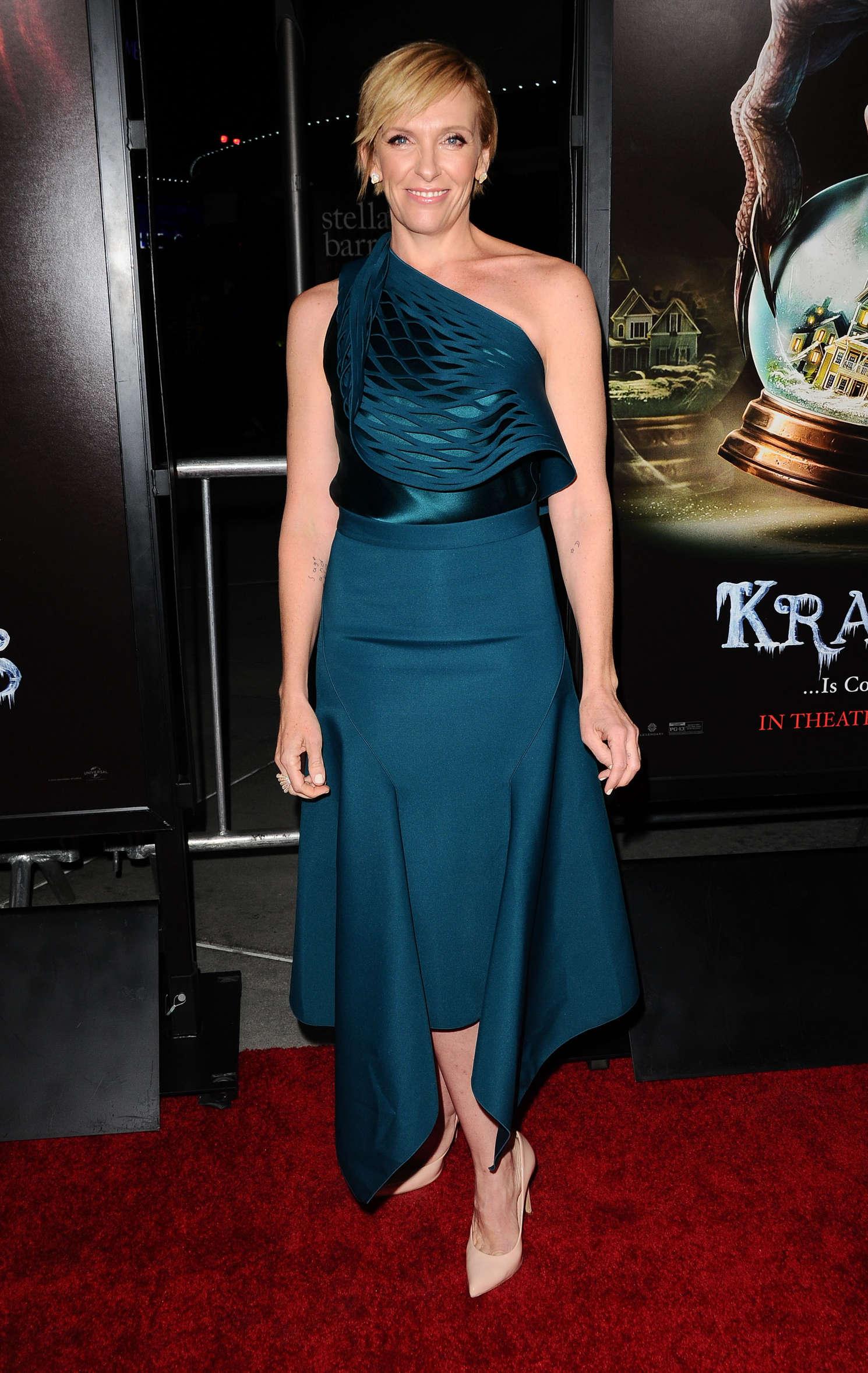 Toni Collette Krampus Screening In Hollywood