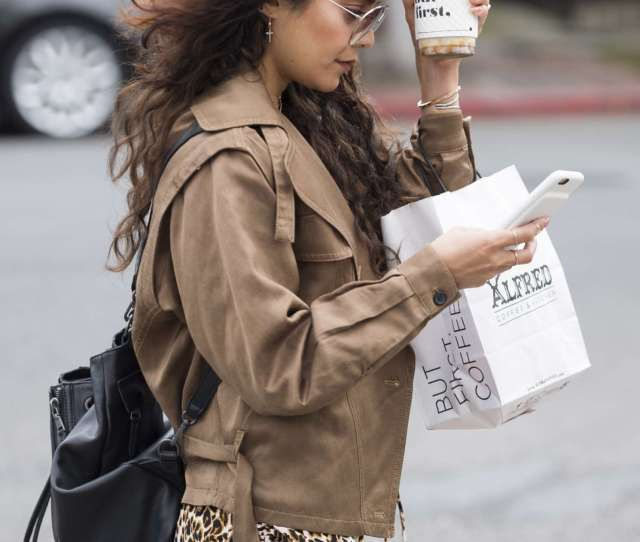 Vanessa Hudgens Hot On Street While Getting Coffee In Los Angeles