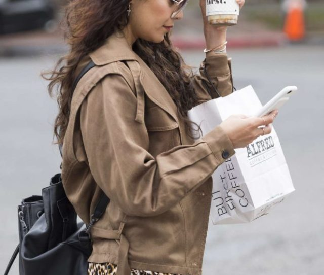 Vanessa Hudgens Hot On Street While Getting Coffee In Los Angeles 28