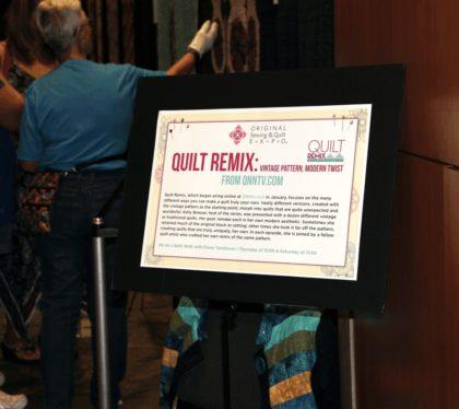 Remix Quilt Show Arlington Expo