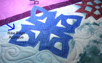 Raw Edge Applique