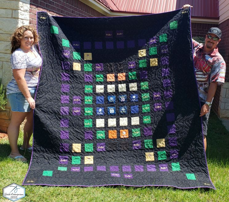 Crown Royal Quilt Complete