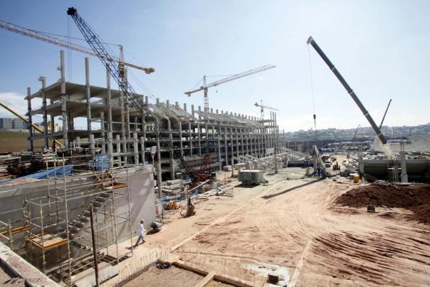 CCTV surveillance system job site construction