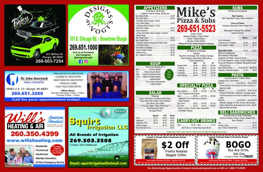 Mike's Pizza & Subs