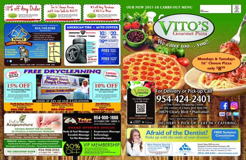 Vito's Gourmet Pizza
