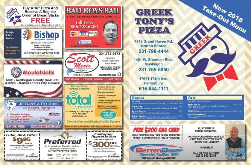 Greek Tony's Pizza