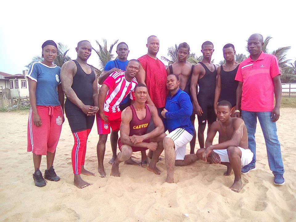Liberia Wrestling Team