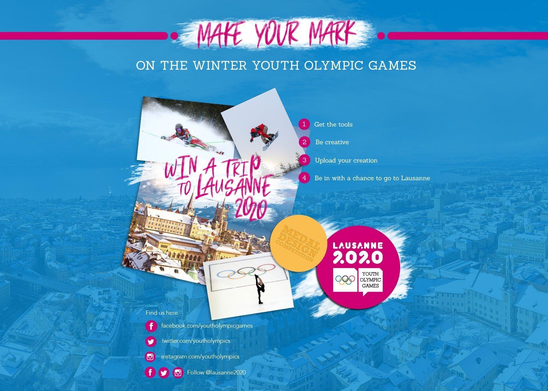 YOG Medal Design Contest poster