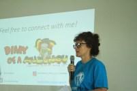 @chaliebeau @ wordcamp kampala