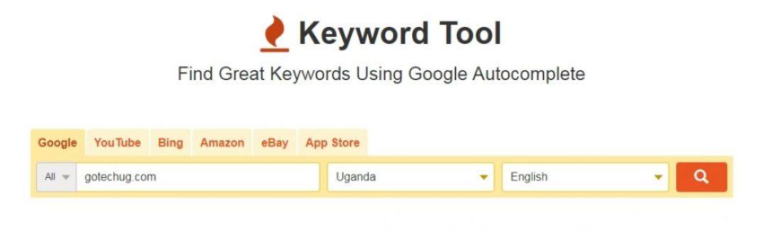 keywordtool.io - free seo tools