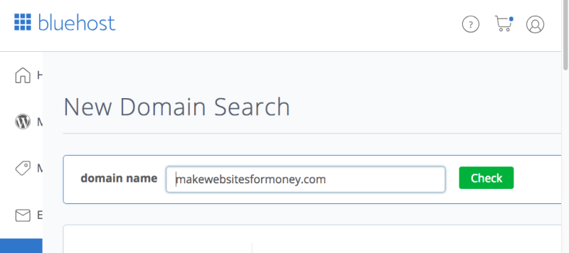 Search and Register Domain