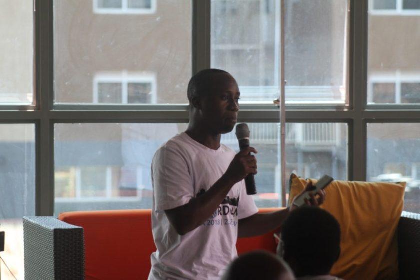 David Wampamba sharing on collaboration with GIT