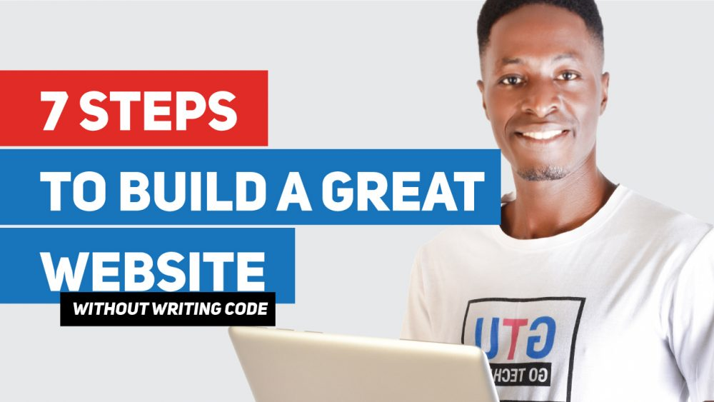 Build a great website without coding