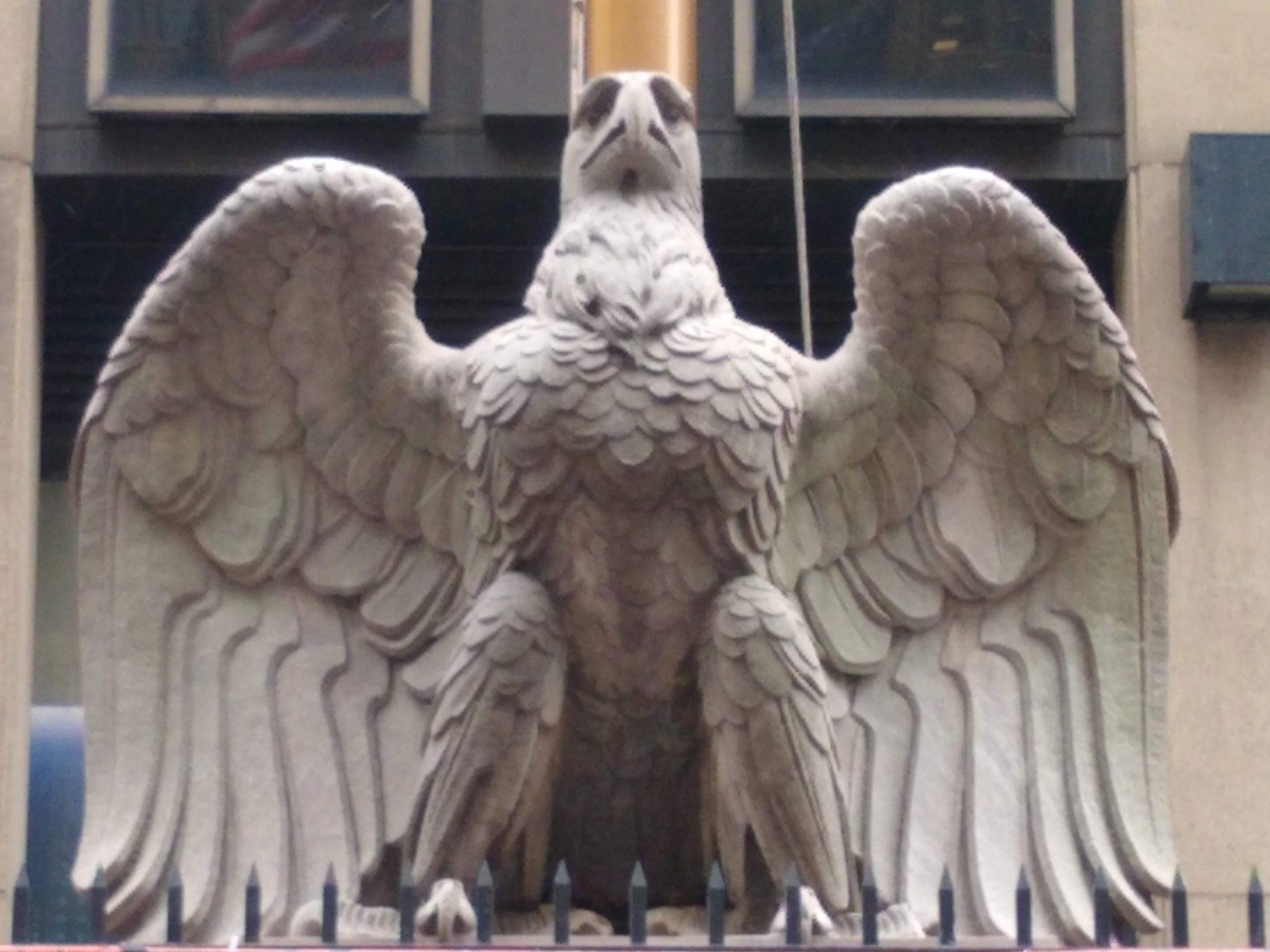 Old Penn Station eagle