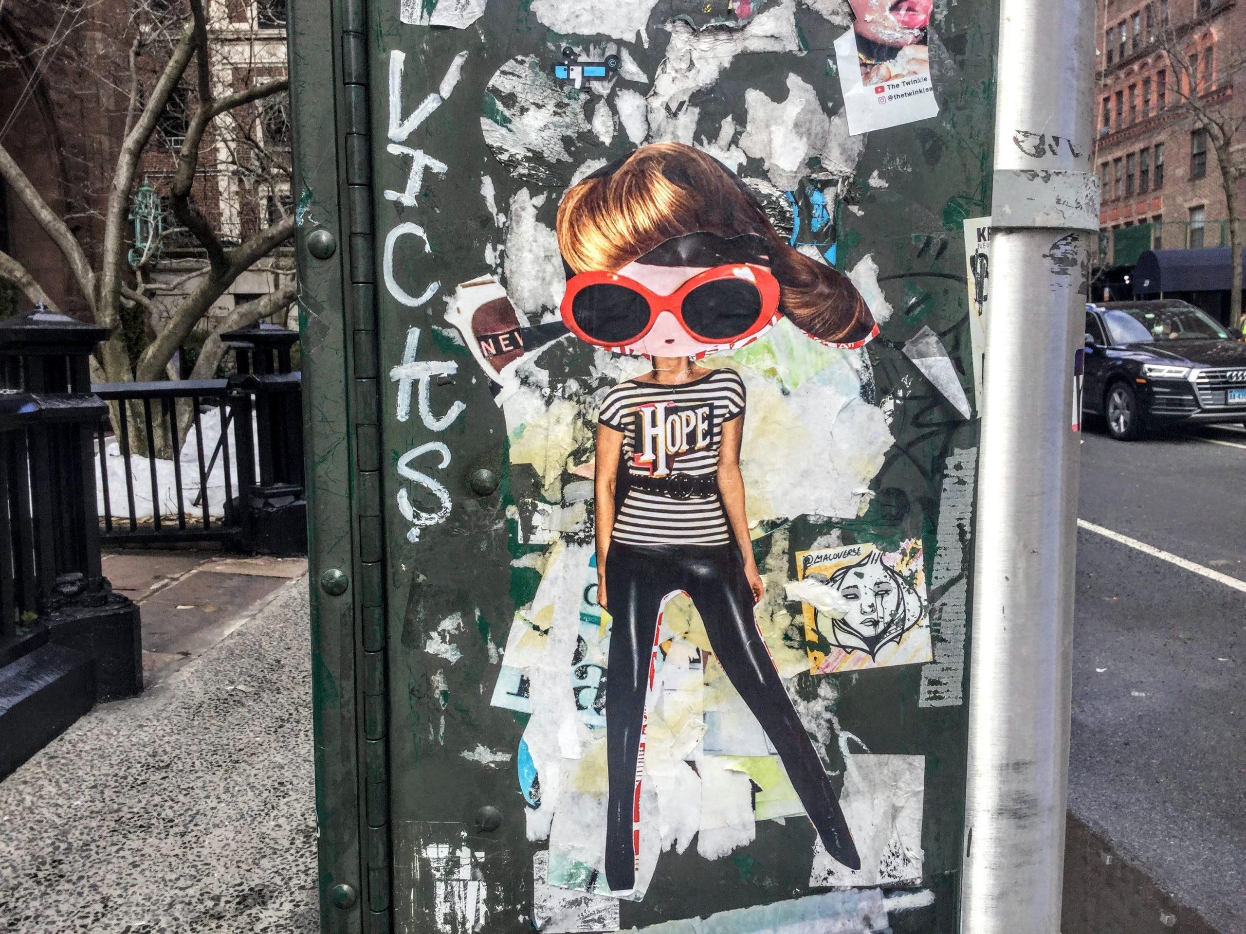 Phoebe street art