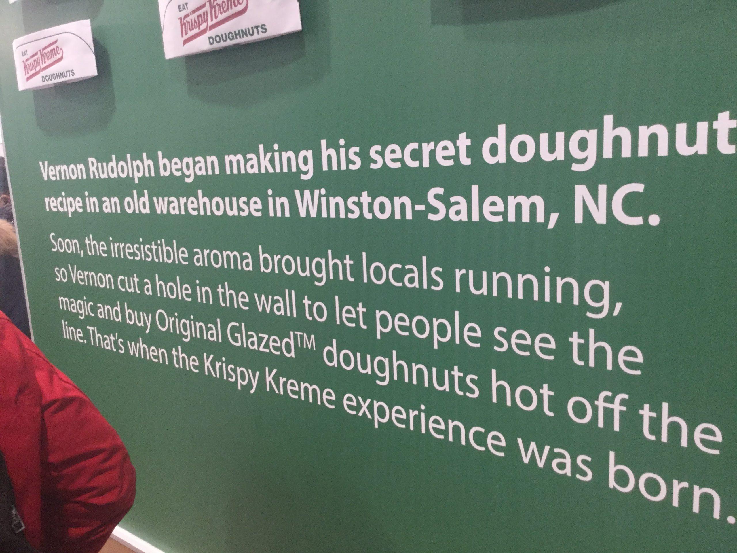 Krispy Kreme story