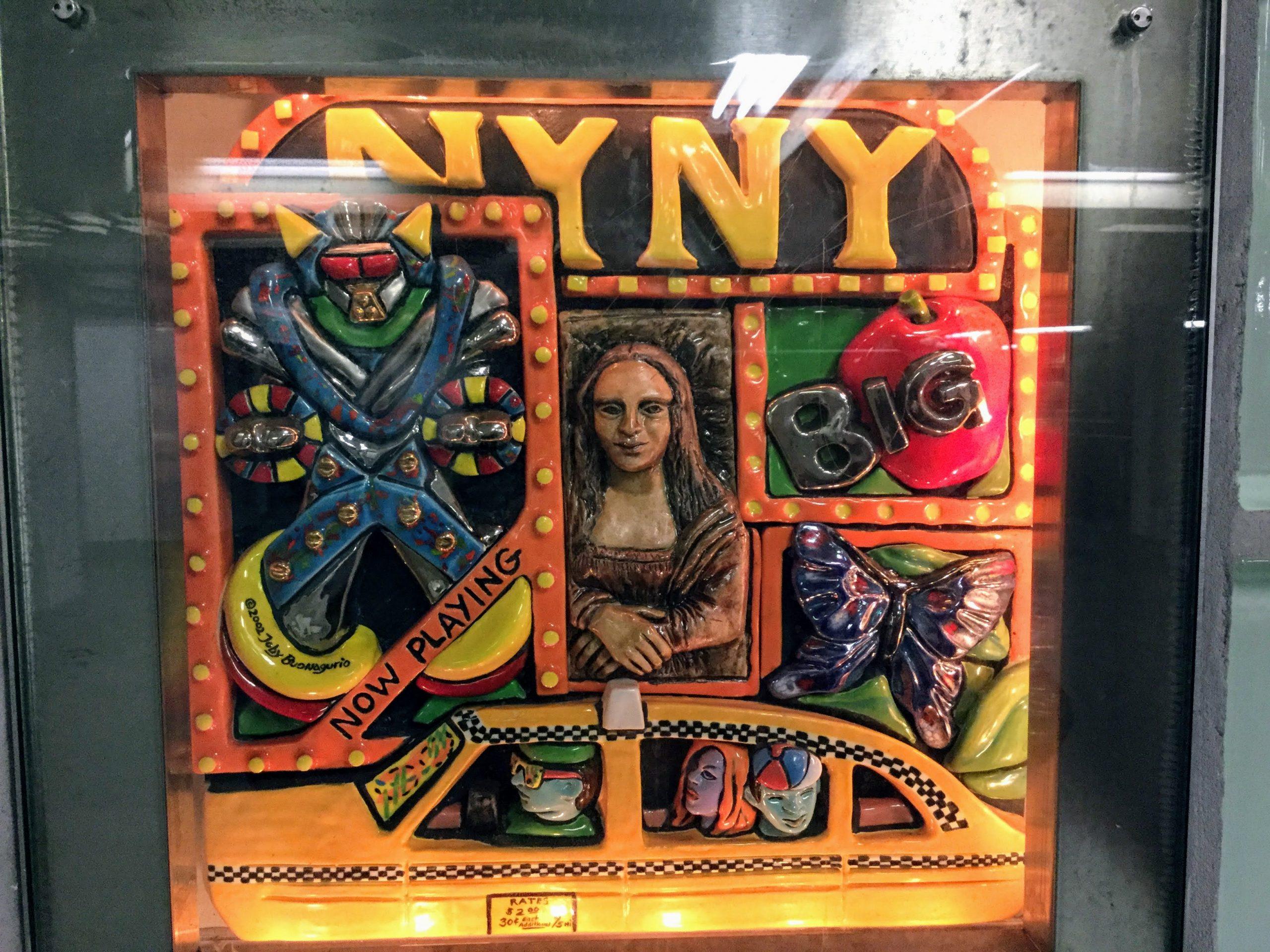 Subway Tile Art - NY NY