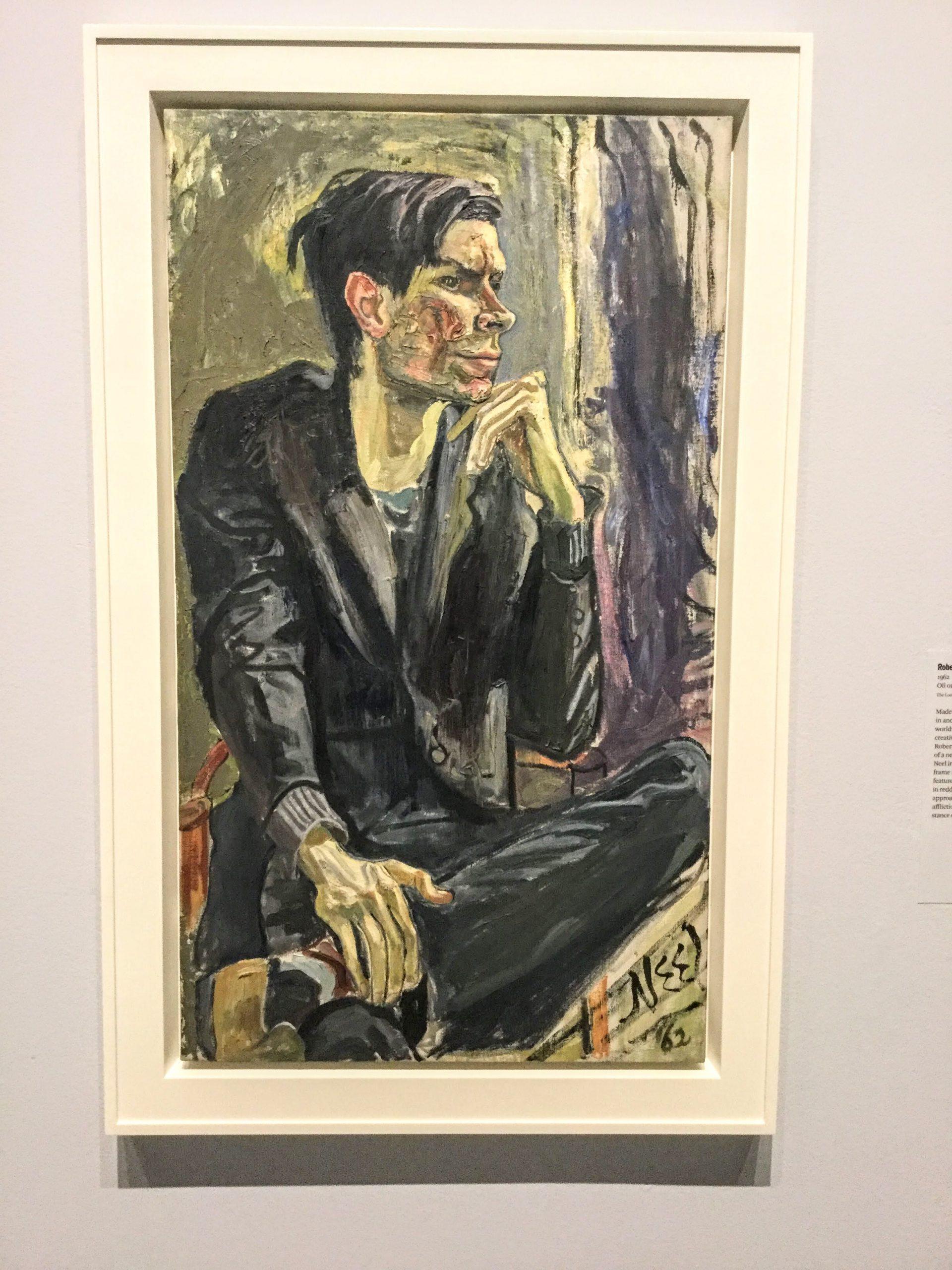 """""""Robert Smithson"""" by Alice Neel"""