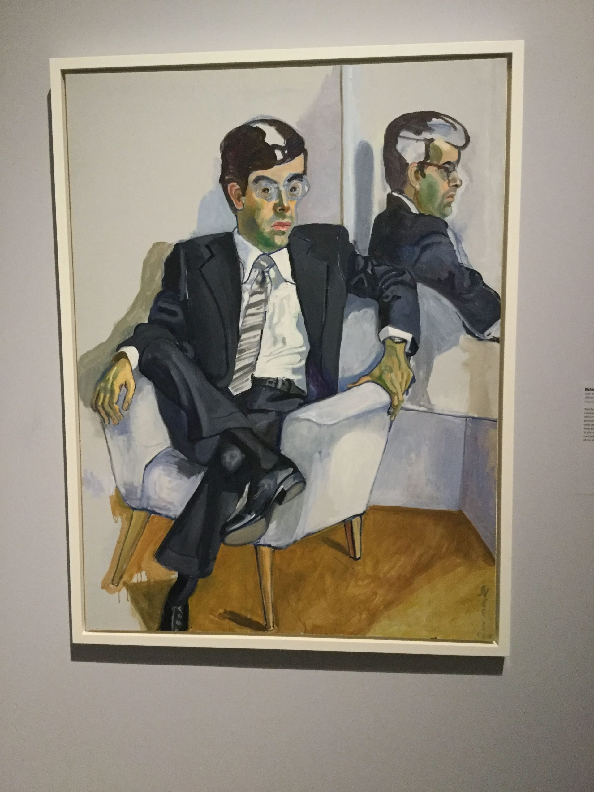 """""""Richard in the Era of the Corporation"""" by Alice Neel"""