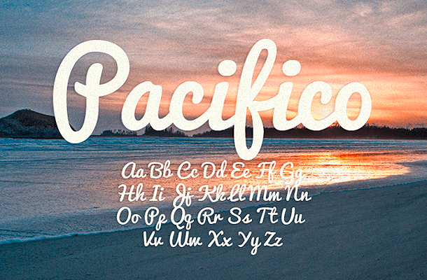 Pacifico Font Free