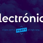 Electronica Font